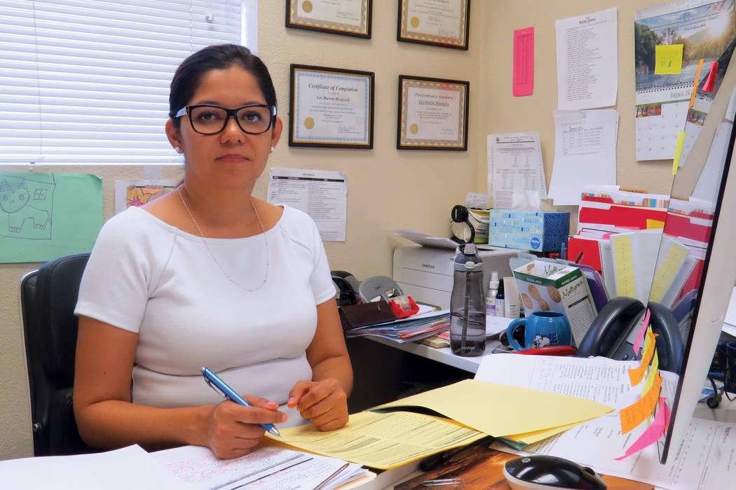"""""""Van a estar unidos y ahora nosotros debemos estar unidos con ellos"""": Luz Marina Mosquera, directora de Hermandad Mexicana Transnacional.Miércoles 6 de septiembre en la organización Hermanda ..."""