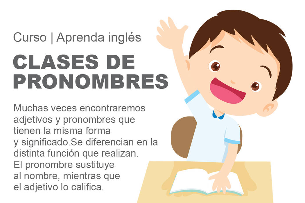 Clases de pronombres.