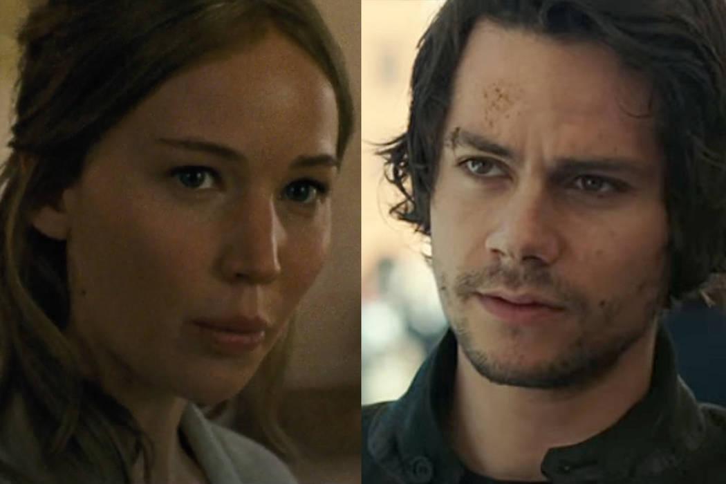 """""""Mother!"""", protagonizado por Jennifer Lawrence y Javier Bardem, y la cinta de acción """"American Asasen""""."""