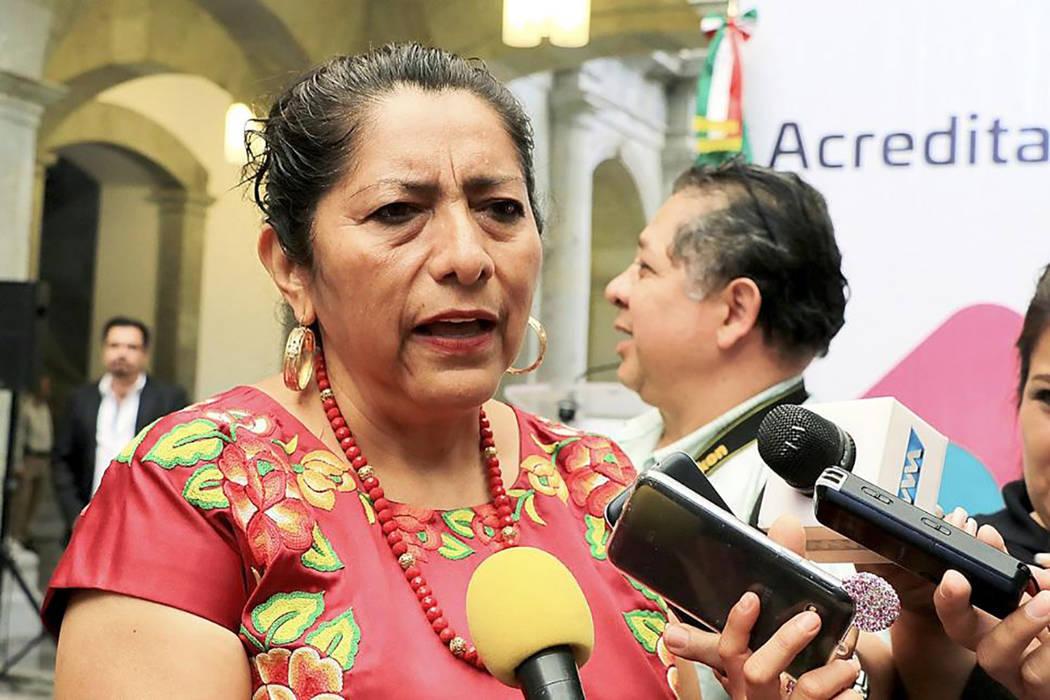 Gloria Sánchez, alcaldesa de Juchitán. | Foto cortesía