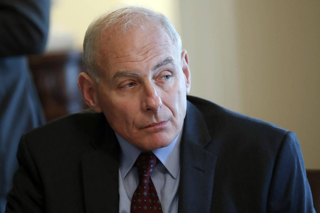John Kelly, jefe de Gabinete de la Casa Blanca. | AP/Alex Brandon.