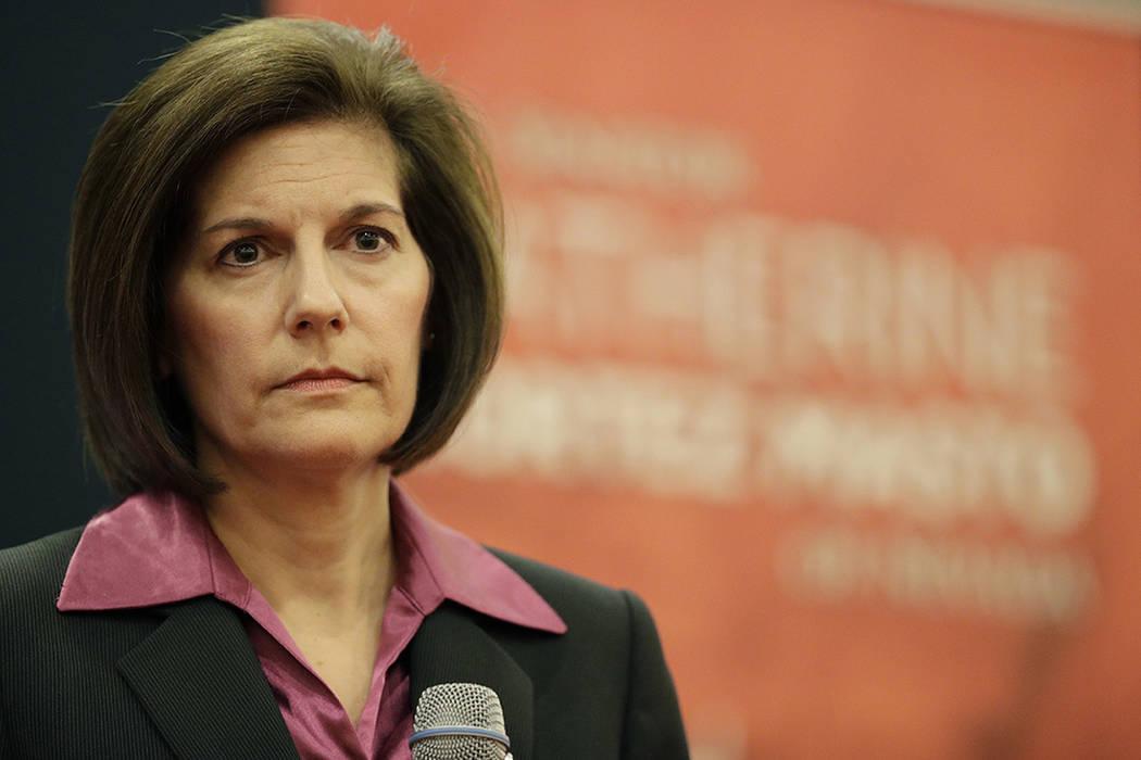 La senadora por Nevada Catherine Cortez Masto (D-Nev.). | AP Photo/John Locher.