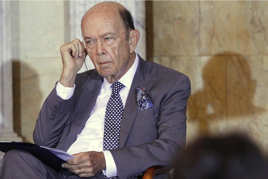 El secretario de Comercio de EE.UU., Wilbur Ross. | Foto AP/Jacquelyn Martin