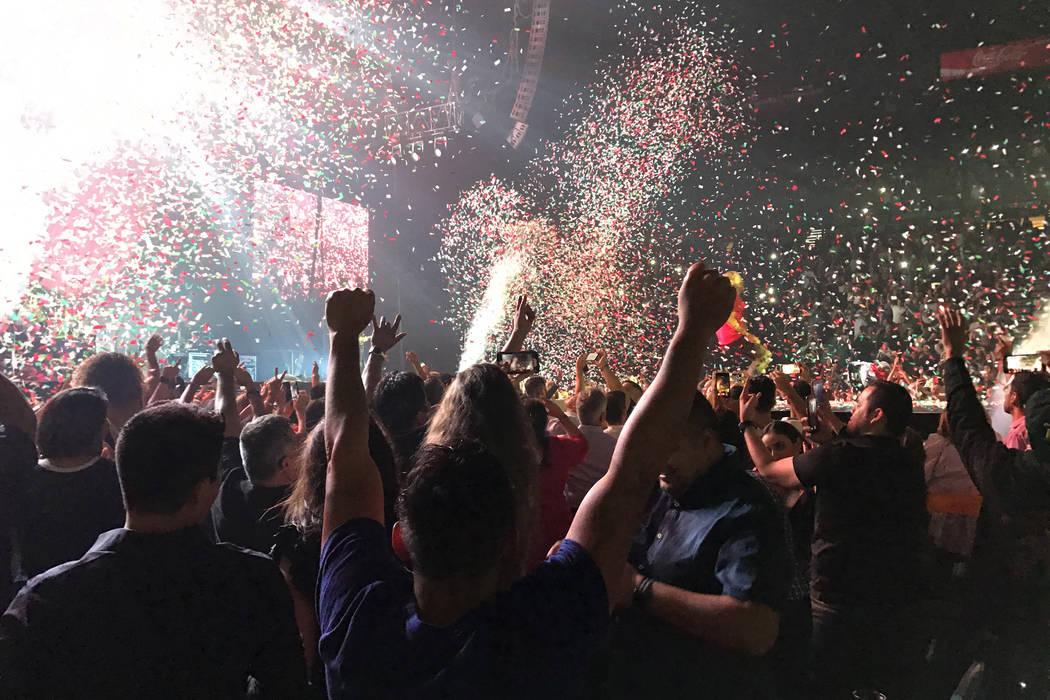 Maná, quienes ofrecieron conciertos el 15 y 16 de septiembre en el marco de la celebración de la Independencia de México. | Foto Anthony Avellaneda / El Tiempo.
