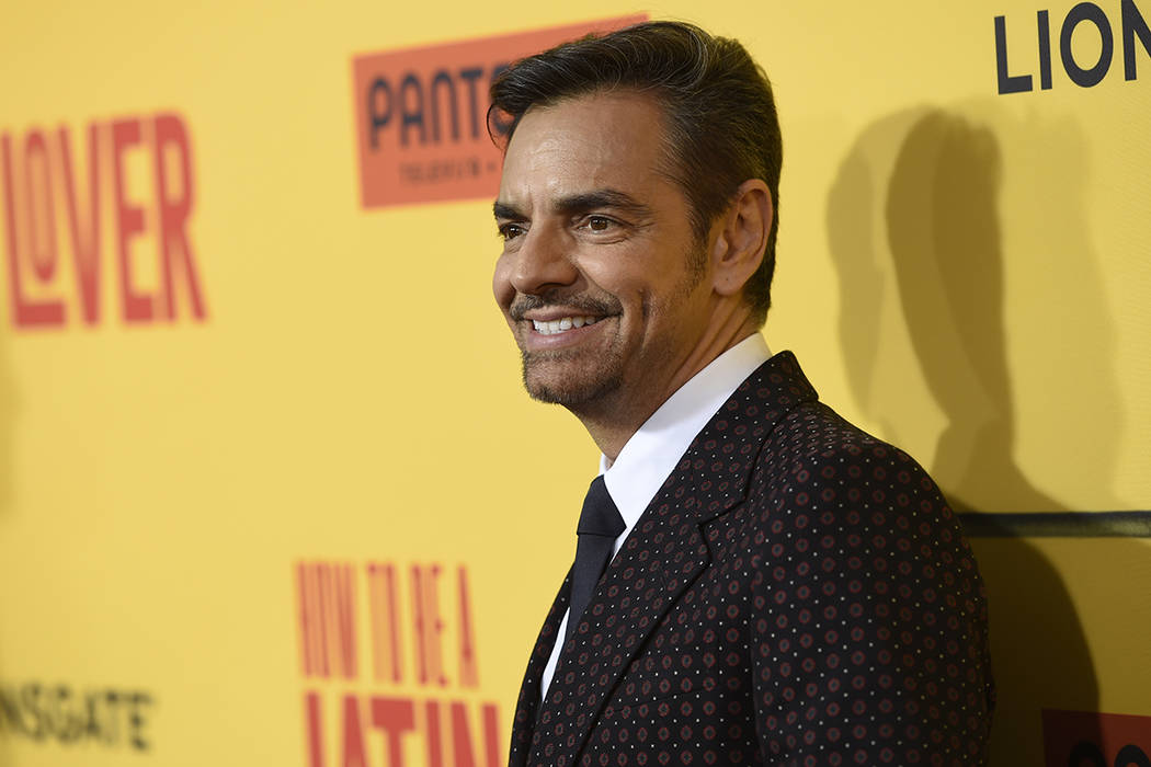 El actor mexicano Eugenio Derbez . | Foto AP/ Chris Pizzello/Invision.