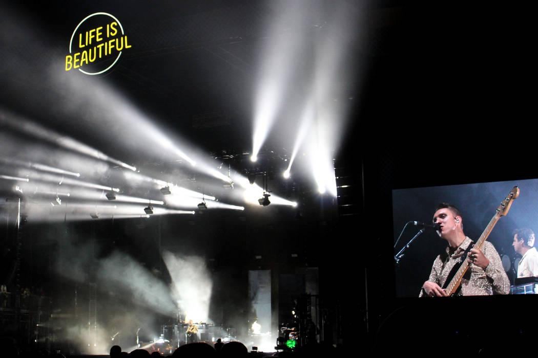 97 diferentes bandas de rock, DJ y espectáculos artísticos, que encabezaron Blink 182, Gorillaz, Muse, MGMT y Chance The Raper.   Foto Cristian De la Rosa / El Tiempo.