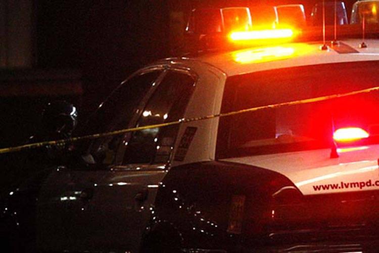 El conductor rechazó la atención médica. | Foto Las Vegas Review-Journal.