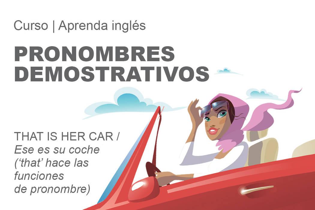She drives that car / Ella conduce ese coche ('that' hace las funciones de adjetivo)