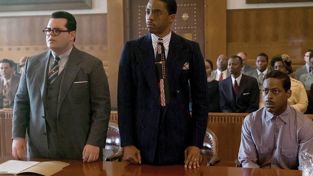 Está protagonizada por Chadwick Boseman ('Capitán América: Guerra civil') como Thurgood Marshall.