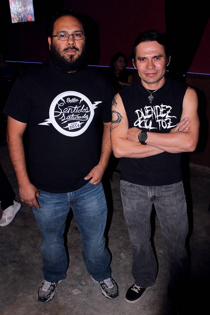 Los Duendez Ocultoz tienen 10 años de trayectoria en Las Vegas. Fotos, Stateside Lounge, viernes 28 de septiembre, 2017, Las Vegas.   Foto Cristian De la Rosa / El Tiempo.