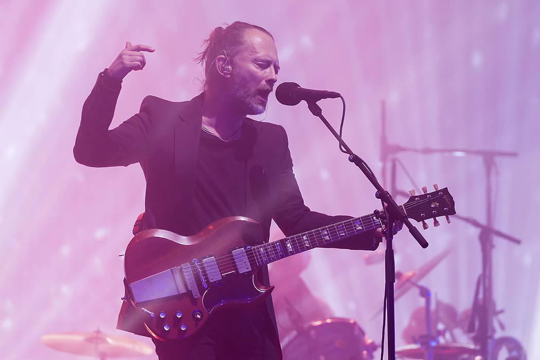 Radiohead.   Foto Grant Pollard/Invision/AP.