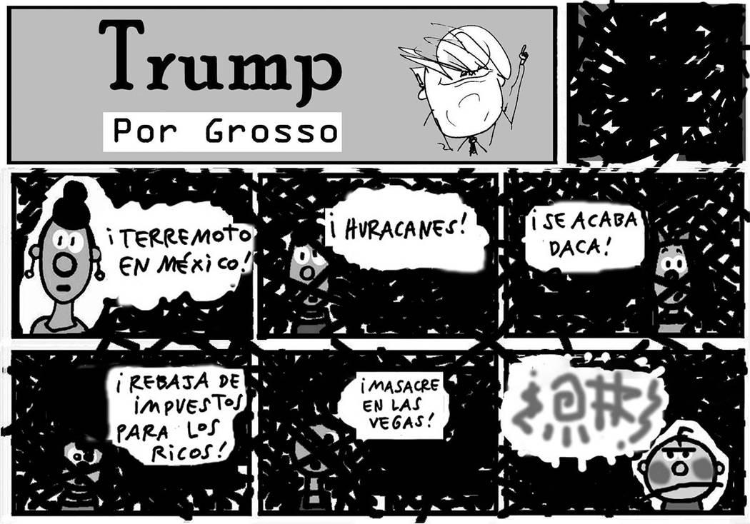 TRUMP. | Ilustración por Grosso / Especial para El Tiempo.