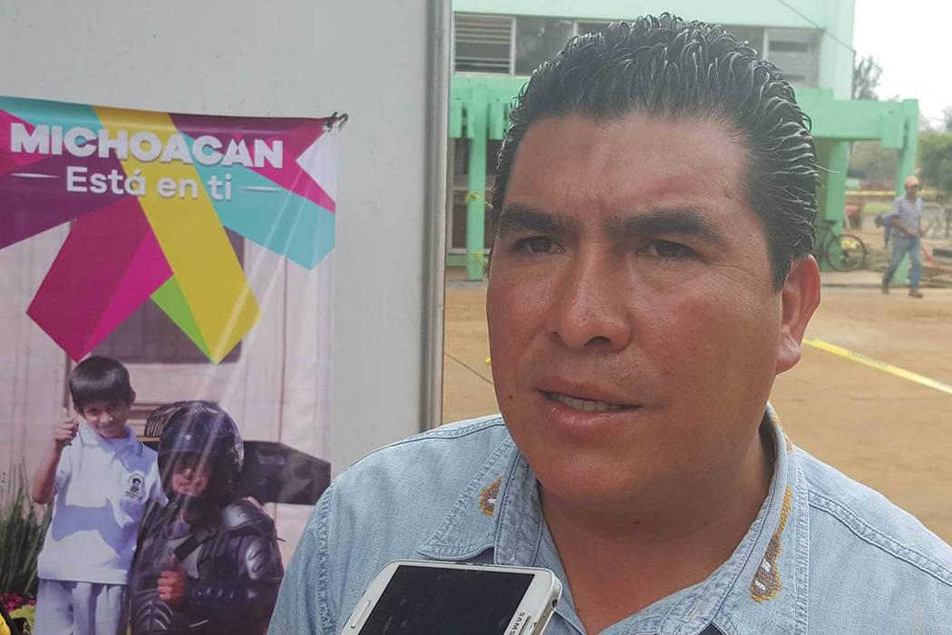 Stalin Sánchez González, alcalde del municipio indígena purépecha de Paracho, en el occidental estado mexicano de Michoacán. | Foto cortesía.