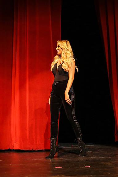 Miss Nevada USA Lauren York ensayo previo al evento, el sábado 7 de octubre, 2017, en el Lowden Theater en Las Vegas. | Foto Thomas Tran photography / Especial para El Tiempo.