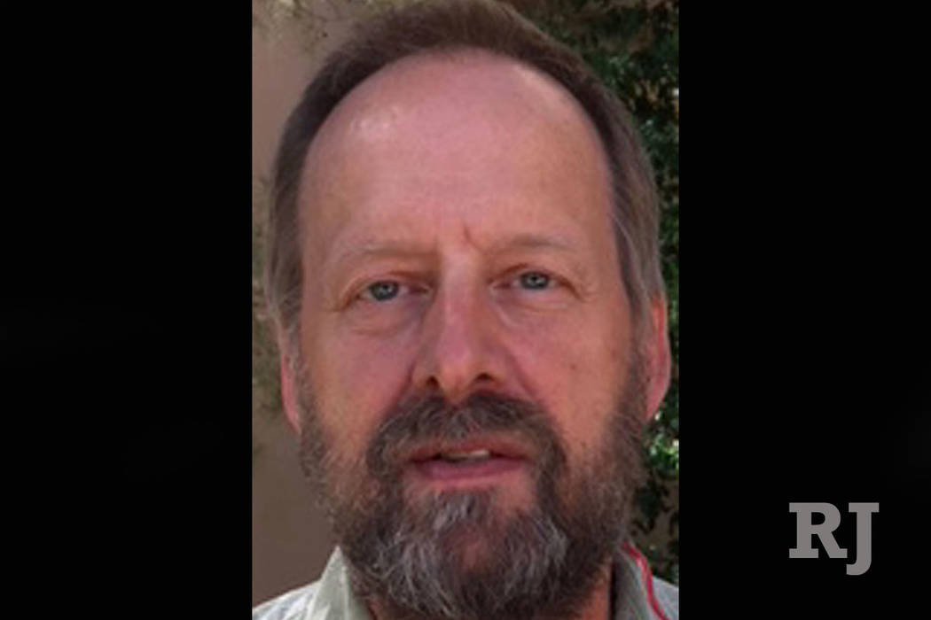 Eric Paddock, hermano del asesino masivo Stephen Paddock, en Las Vegas. (Jeff Alemán Las Vegas Review-Journal)