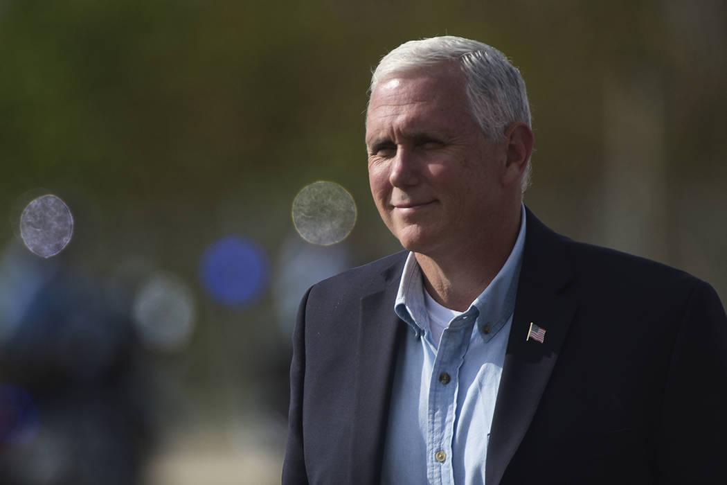 El vicepresidente de los EE.UU., Mike Pence. | Foto AP / Carlos Giusti.