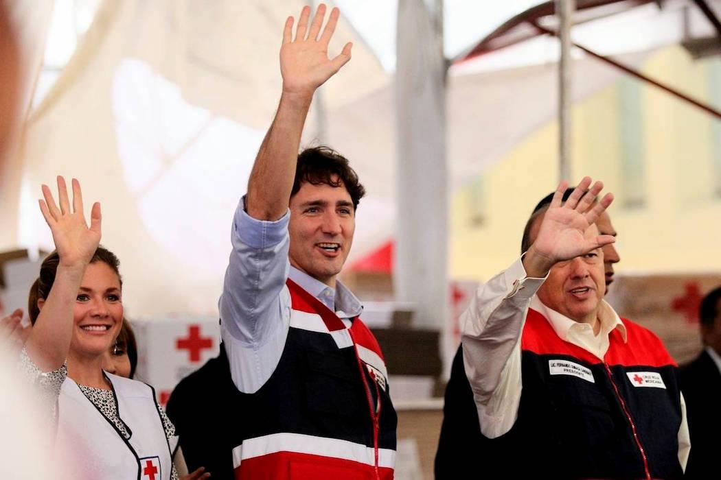 El Gobierno de Canadá dio un donativo de 100.000 dólares canadienses (80.260 dólares) para la Cruz Roja Mexicana, a la que se suman 200.000 dólares canadienses (160.520 dólares) a iniciativas ...