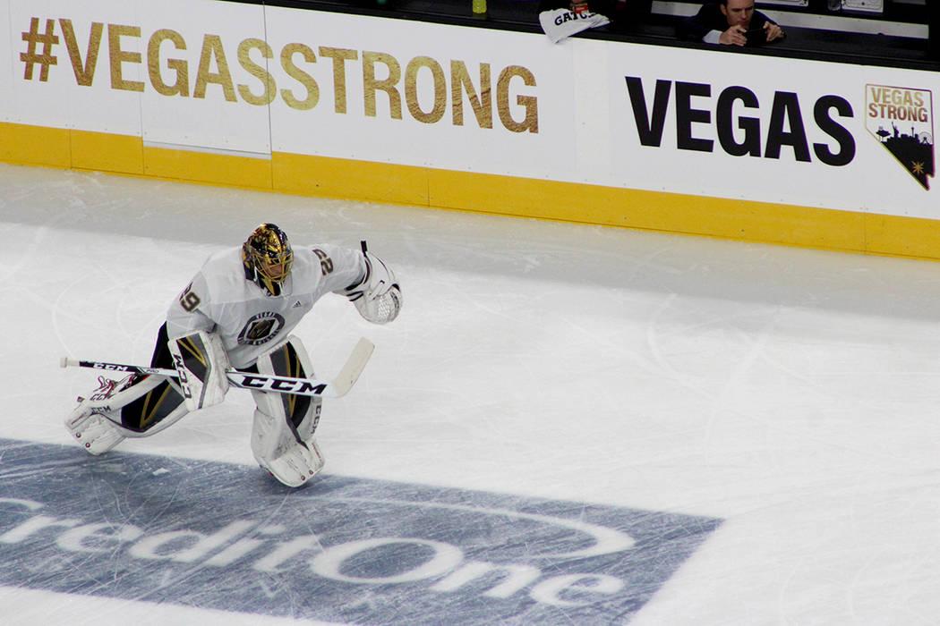 Durante el partido no se mostró publicidad sólo el mensaje de Vegas Strong. Fotos T-Mobile Arena, octubre 10 del 2017, en Las Vegas, Nevada. | Foto Cristian De la Rosa / El Tiempo.