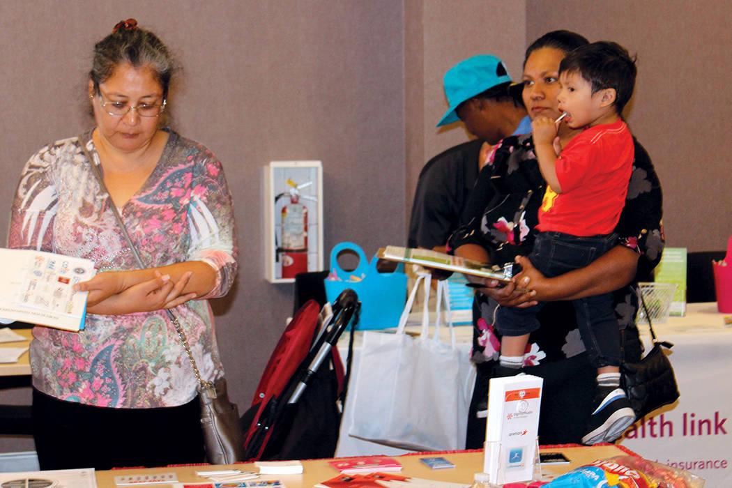 El Día Nacional de la Concientización sobre el Sida entre los latinos es el 15 de octubre. Fotos The Center, octubre 14, 2017, en Las Vegas, Nevada. | Cristian De la Rosa / El Tiempo.
