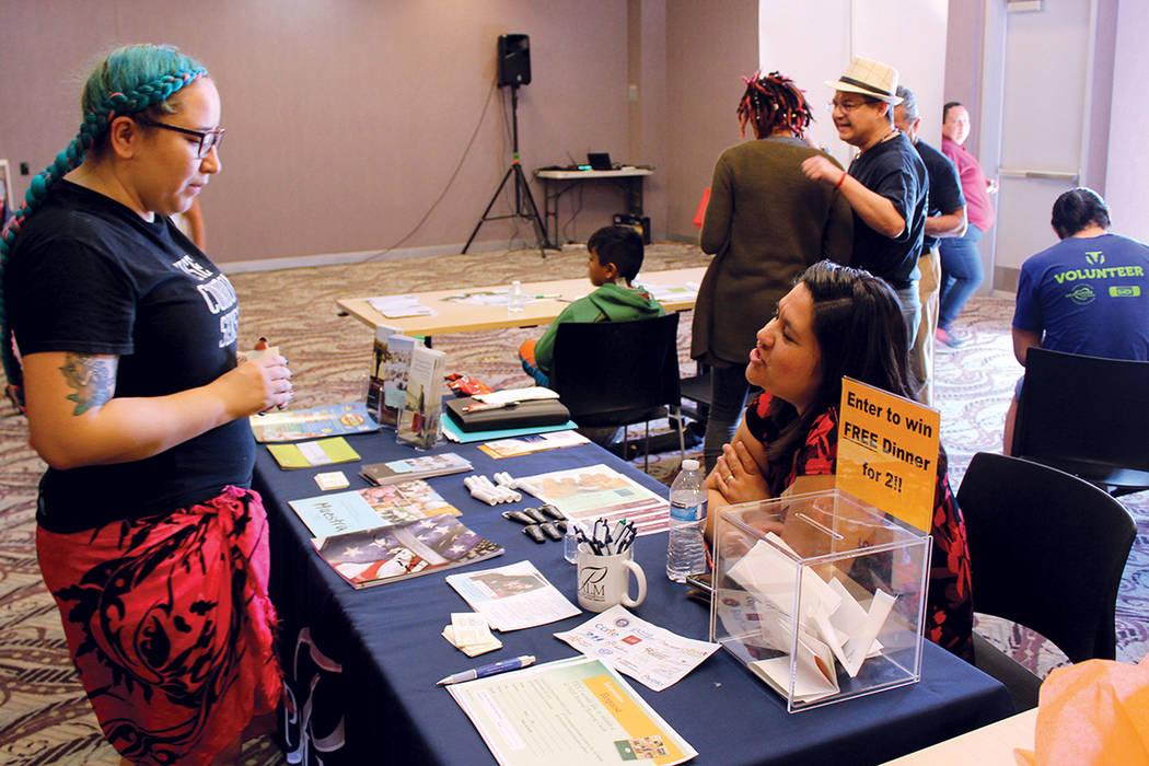 1 y 2. El Día Nacional de la Concientización sobre el Sida entre los latinos es el 15 de octubre. Fotos The Center, octubre 14, 2017, en Las Vegas, Nevada. | Cristian De la Rosa / El Tiempo.