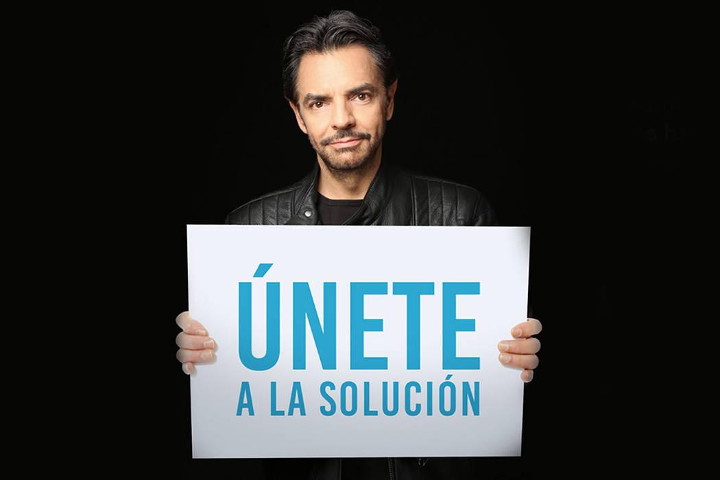 """El actor Eugenio Derbez se ha sumado a la campaña """"Únete a la Solución"""".   Foto cortesía."""