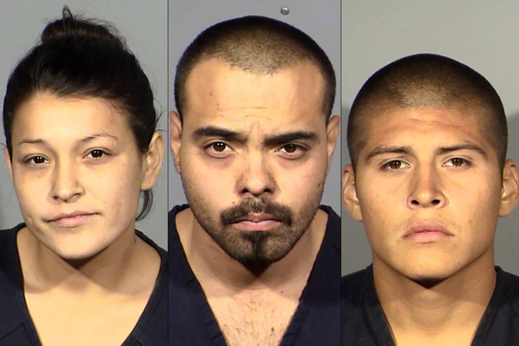 Dorie Henley, Andrew Henley y Jose Franco (Departamento de Policía Metropolitana de Las Vegas)