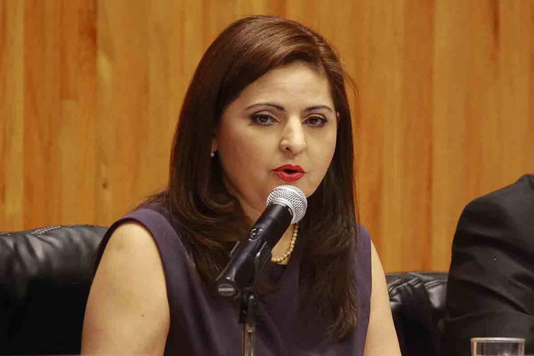 La magistrada electoral Aralí Soto Fragoso. | Foto cortesía.