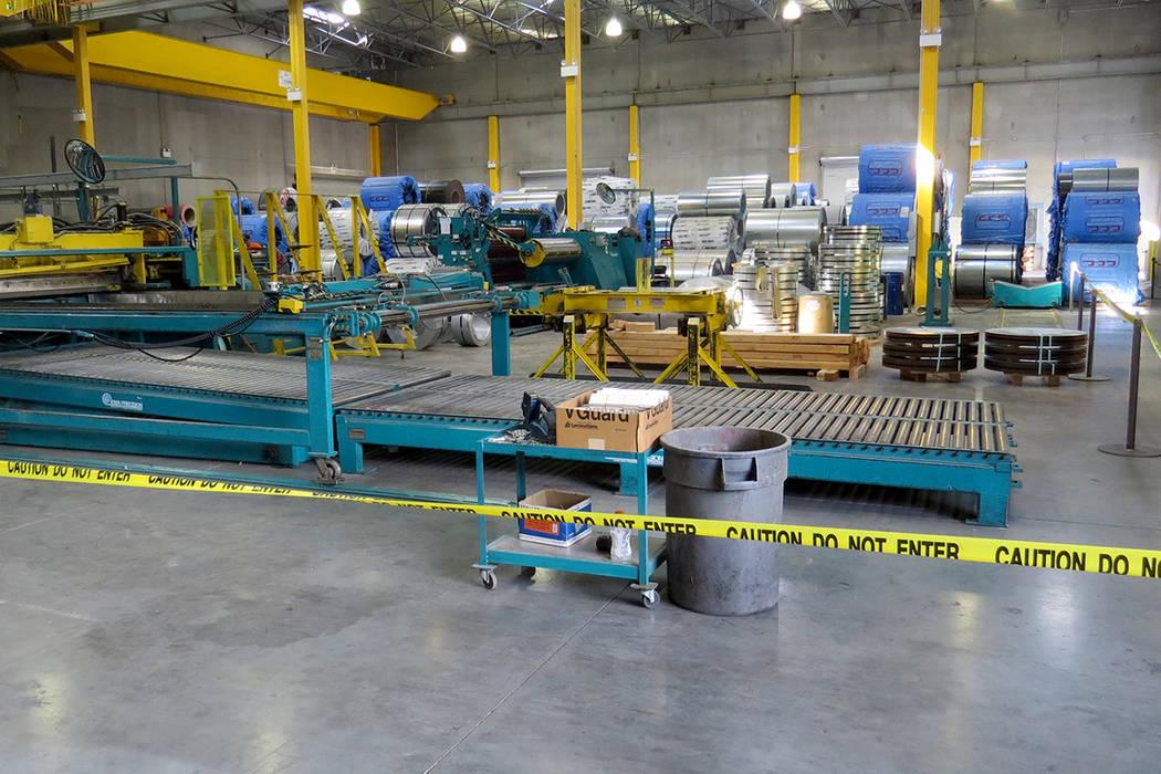 Una de las áreas de producción de General Desing & Construction. Lunes 30 de octubre en GDC. | Foto Anthony Avellaneda / El Tiempo.