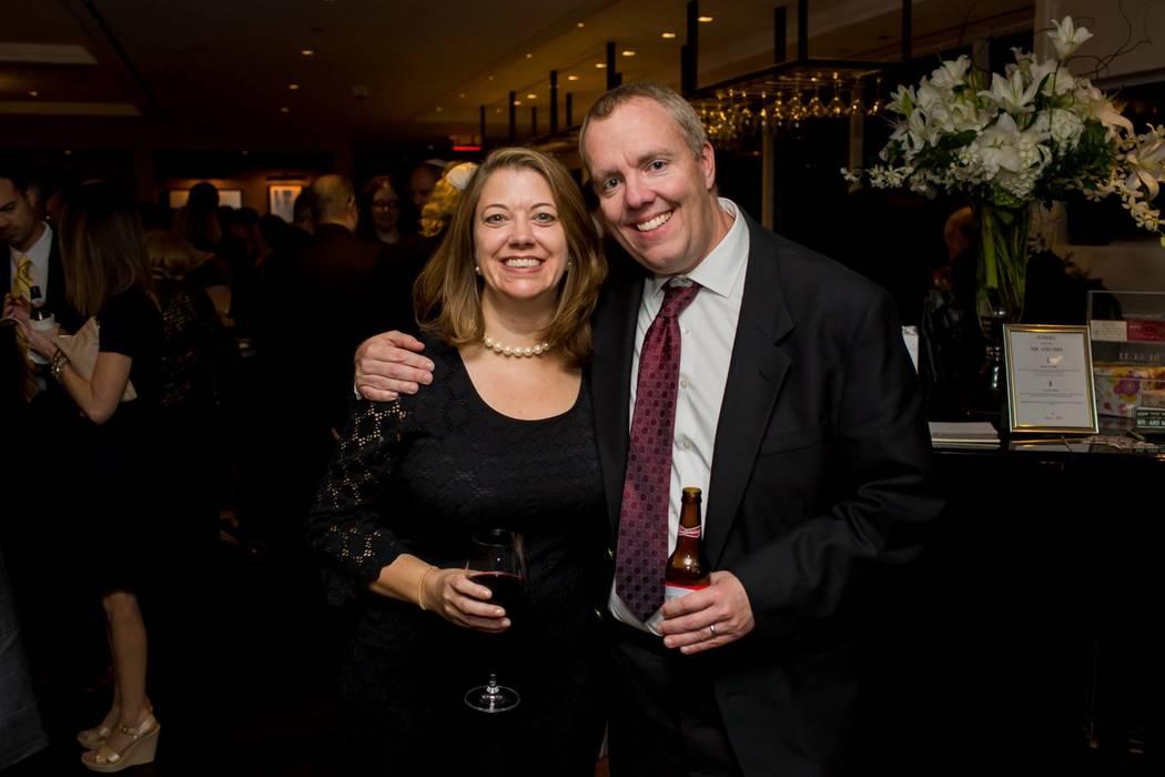 Allison y Mike Gurley en una foto tomada a principios de este año, antes de su viaje a Las Vegas. Los Gurleys se quedaron en Mandalay Bay durante el tiroteo del 1° de octubre. Allison Gurley