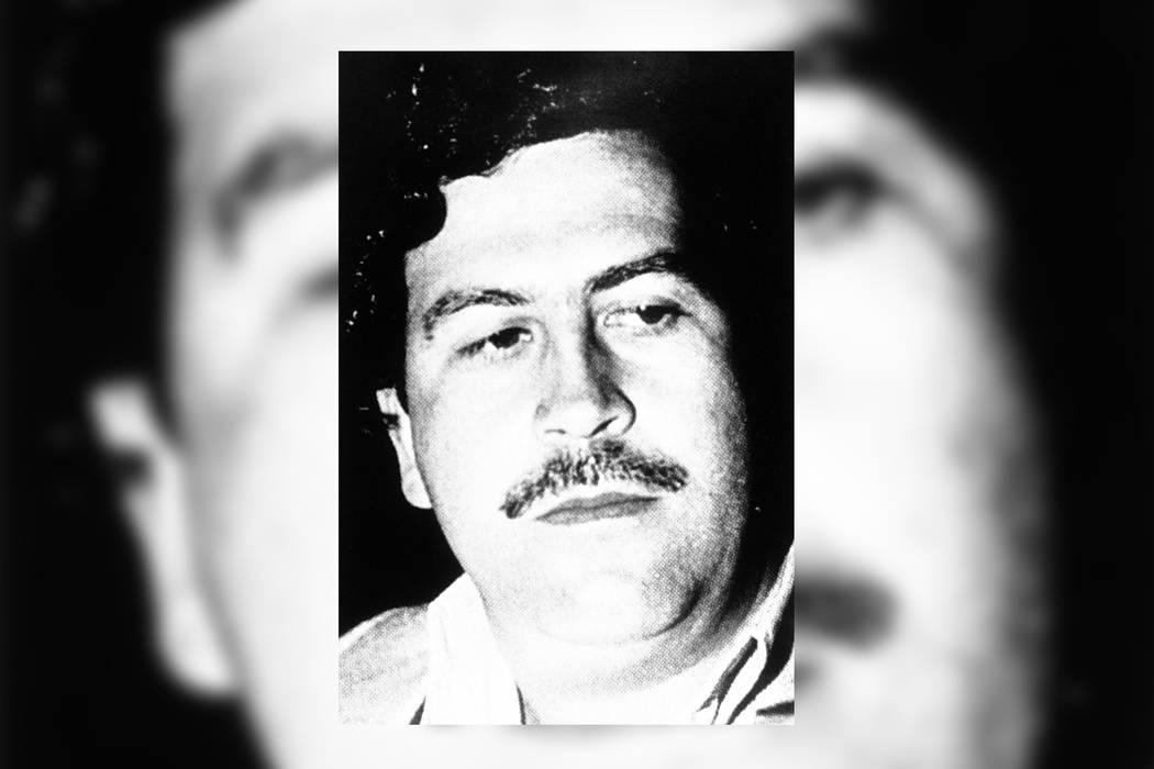 ARCHIVO- El capo colombiano de la cocaína, Pablo Emilio Escobar, aparece en una foto sin fecha. | Foto AP.
