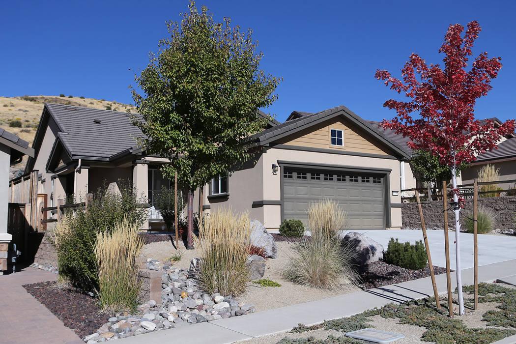 La casa de Stephen Paddock yace vacía, al oeste de Reno, en Verdi, Nev., El viernes 6 de octubre de 2017. (Cathleen Allison / Las Vegas Review-Journal)