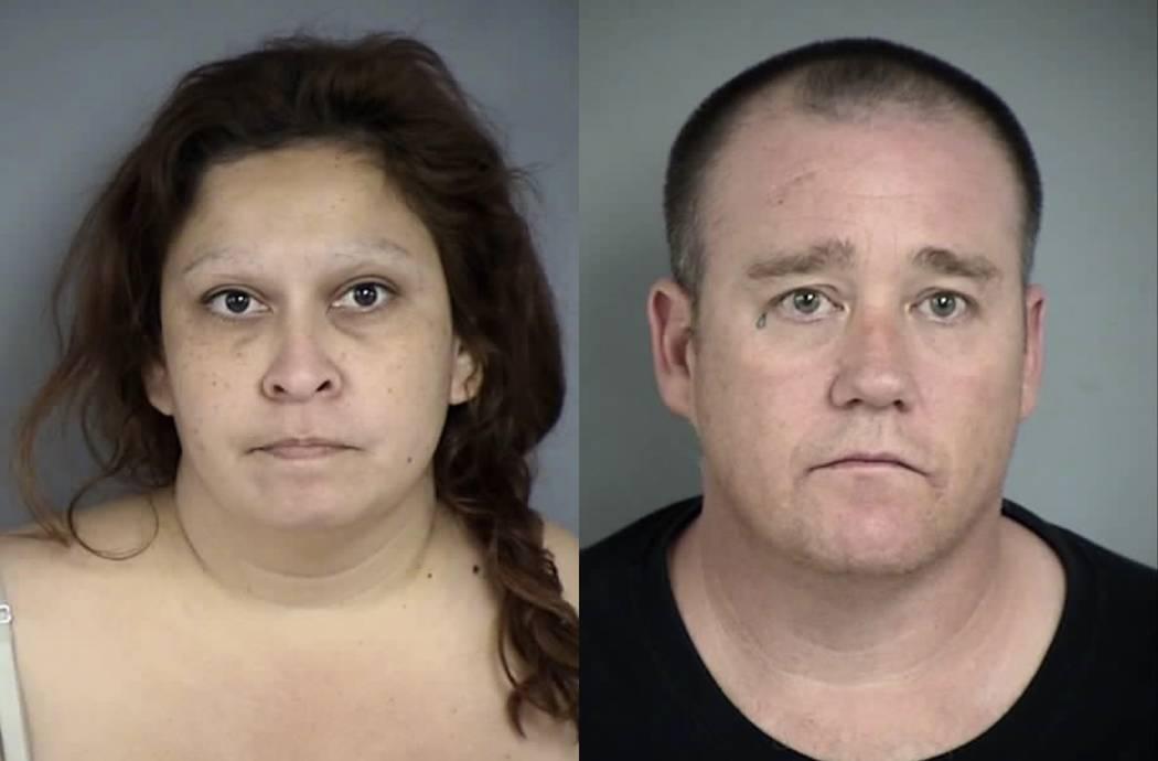 Michael Maria Falus y Larry Allen Gray Jr. (Departamento de Policía de North Las Vegas)