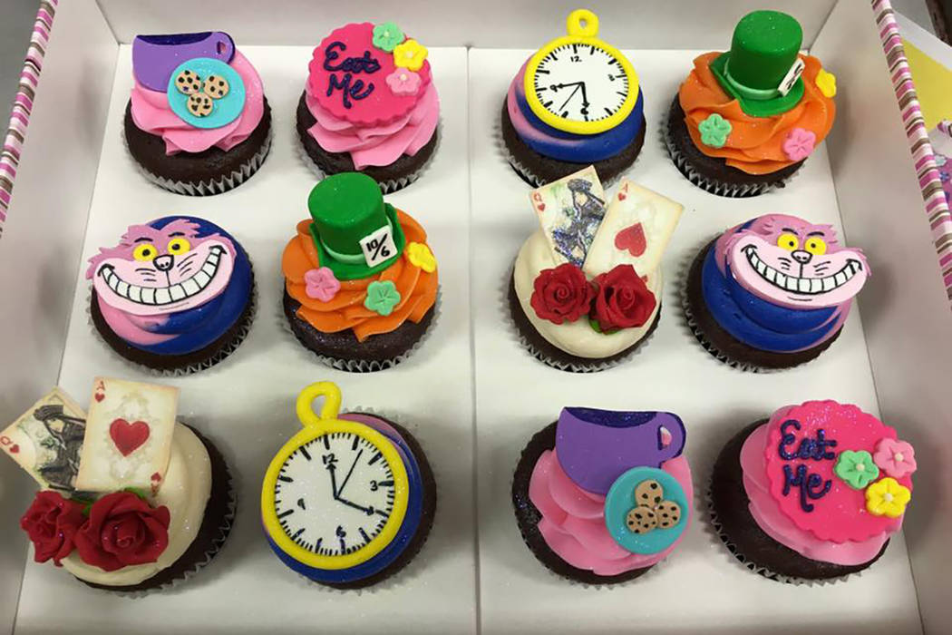 Cupcakes de The Cupcakery. Facebook