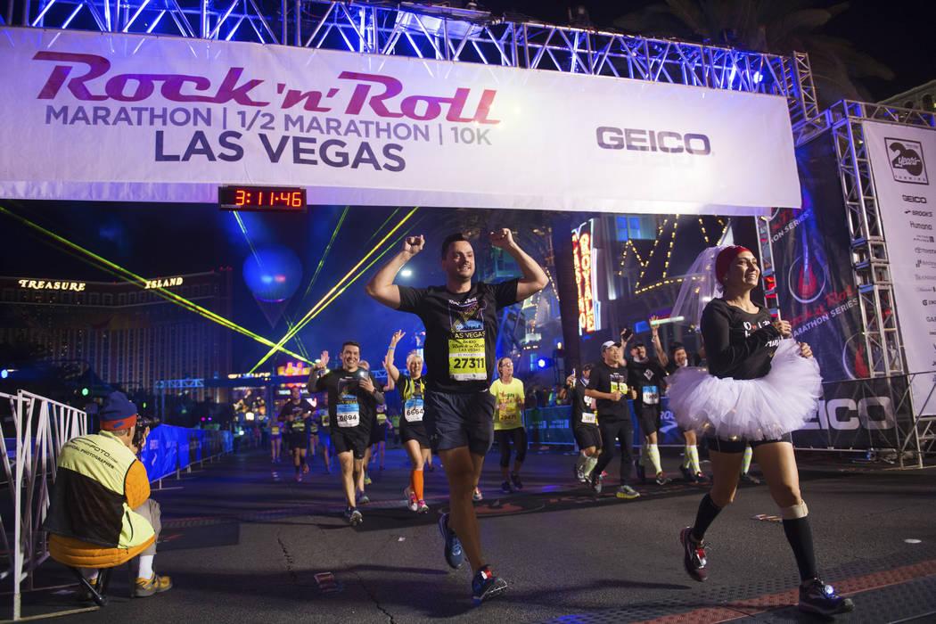 El Maratón GEICO Rock 'n' Roll Las Vegas llega a las calles de Las Vegas el 12 de noviembre de 2017. | Foto Las Vegas News Bureau.