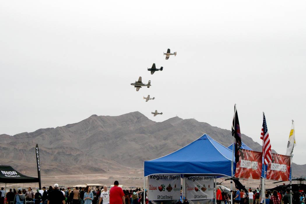 La Base Nellis abrió al público para celebrar el 70 aniversario de la Fuerza Aérea. 11 y 12 de noviembre en la Base Nellis. | Foto Valdemar González / El Tiempo.