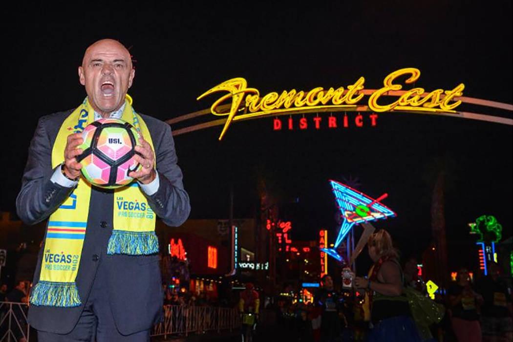 "José Luis Sánchez Solá, ""El Chelís"". | Foto Las Vegas Lights FC."