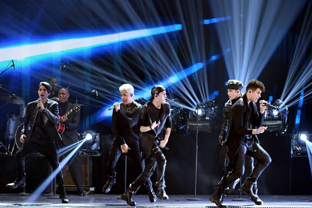 CNCO / Foto Cortesía Latin Grammy