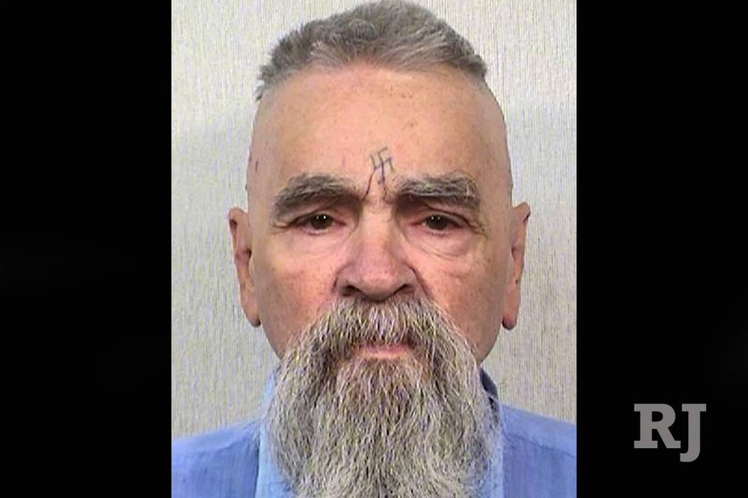 Charles Manson, visto en 2017 (Departamento de Corrección y Rehabilitación de California a través de AP)
