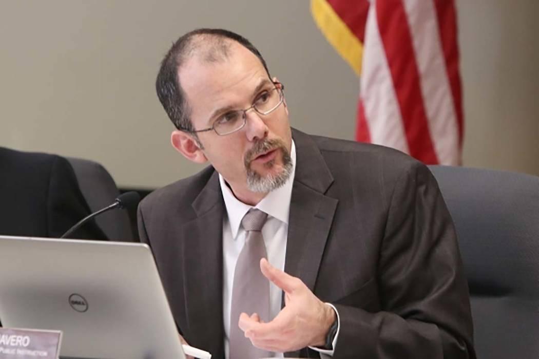 El superintendente estatal Steve Canavero, visto en 2016 (Bizuayehu Tesfaye / Las Vegas Review-Journal Follow @bizutesfaye)