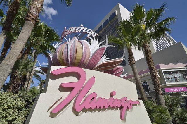 El exterior del hotel casino Flamingo en el 3555 de Las Vegas Blvd. South, en Las Vegas se exhibe el martes 29 de octubre de 2013. (Bill Hughes / Las Vegas Review-Journal)