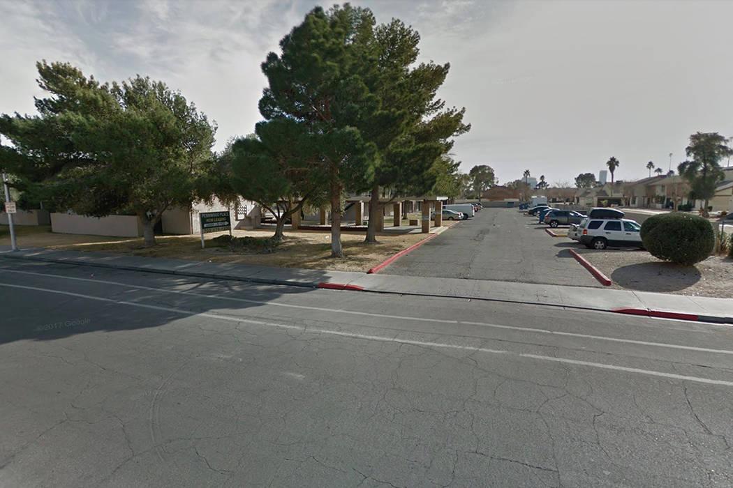 4001 Pennwood Ave. en Las Vegas. Google Street View.