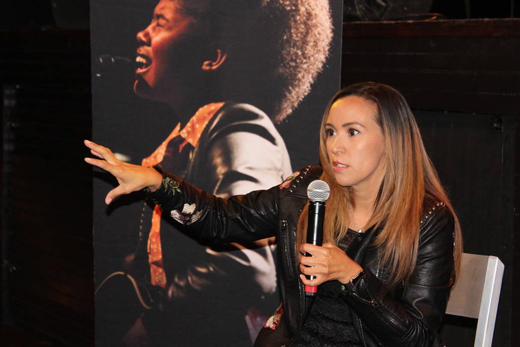 Griselda Torres, directora de operaciones del recinto de House of Blues, habló de cómo comenzó su carrera en la industria musical, el domingo, 12 de diciembre del 2017.   Foto Cristian De la Ro ...