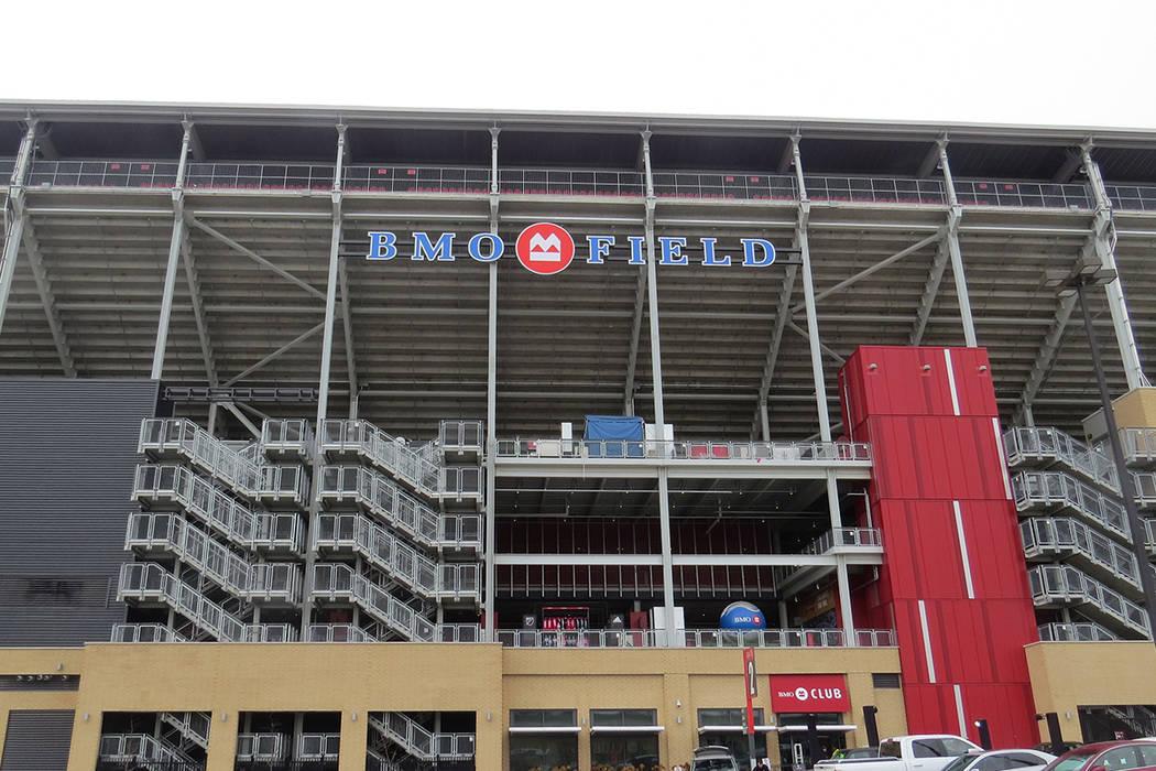 El BMO Field estuvo en perfectas condiciones para albergar el partido. Sábado 9 de diciembre en BMO Field de Toronto, Canadá. | Foto Anthony Avellaneda / El Tiempo.