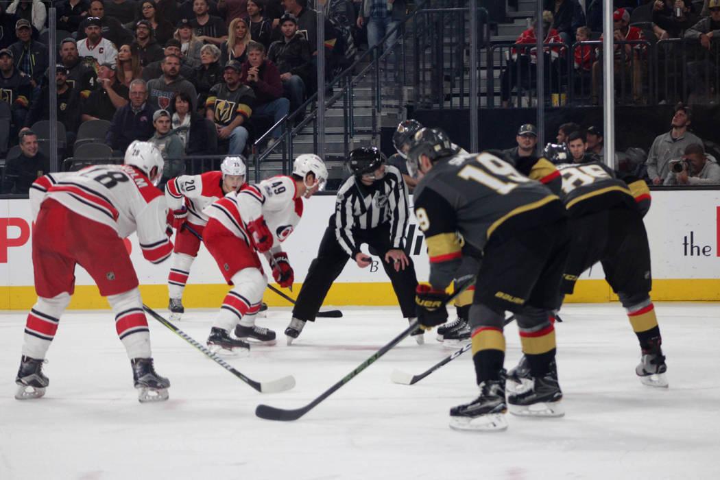 VGK llegó a 21 juegos ganados imponiendo una marca de la NHL para equipo novato. 12 de diciembre de 2017 en T-Mobile Arena. Foto Cristian De la Rosa / El Tiempo.