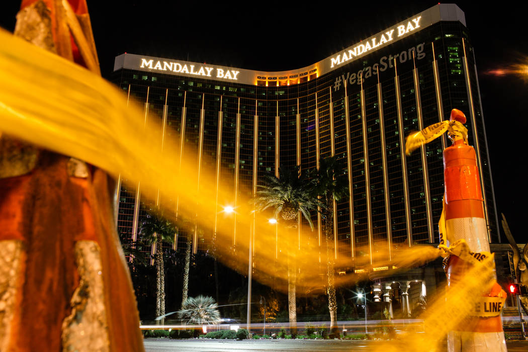 El Mandalay Bay en Las Vegas, martes, 7 de noviembre de 2017. Joel Angel Juarez Las Vegas Review-Journal @jajuarezphoto