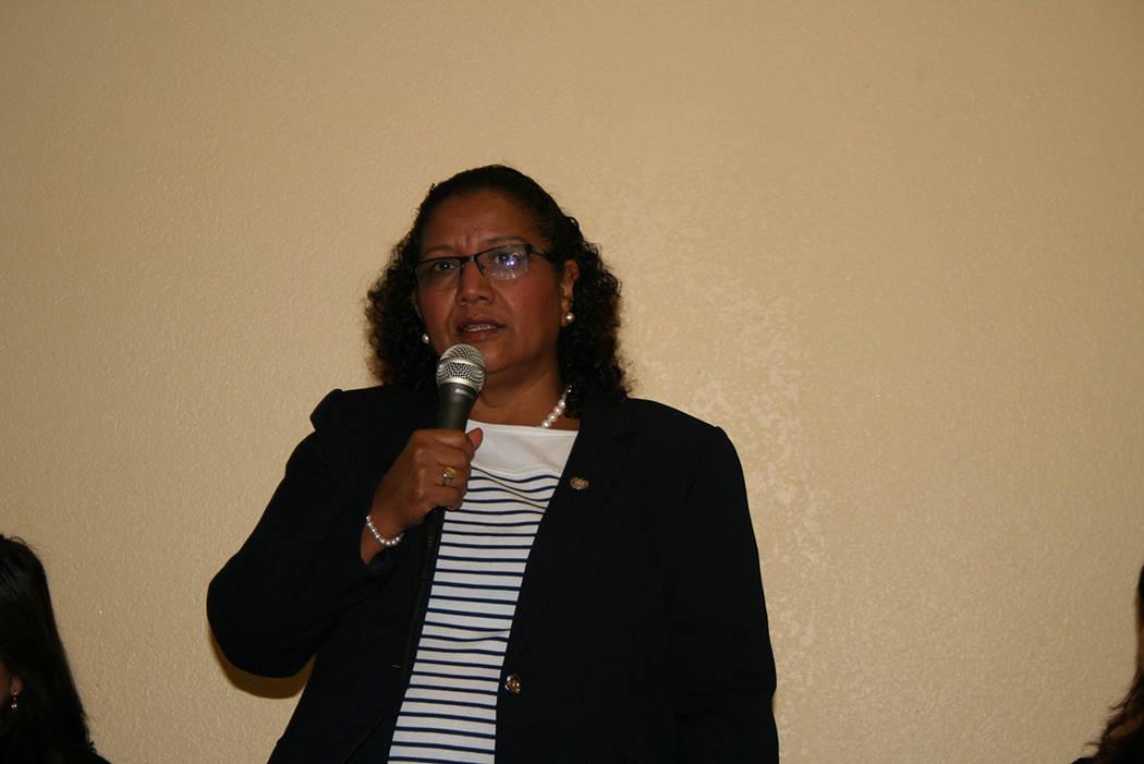 Liduvina Magarín Viceministra de Atención a los Salvadoreños en el Exterior. 11 de enero de 2018 en Consulado de El Salvador en Las Vegas. Foto Valdemar González / El Tiempo.