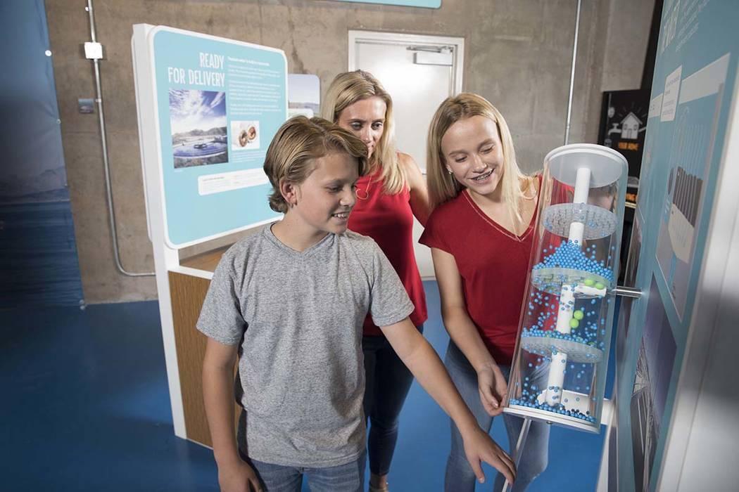 Experiencia interactiva con el tema del agua, en Springs Preserve. La Fundación One Drop prepara una similar para el Discovery Children's Museum. Foto Cortesía One Drop.