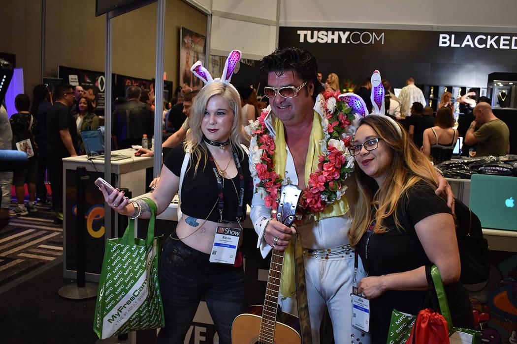 Los asistentes tomaron este evento como un atractivo más para el fin de semana en Las Vegas. 25 de enero del 2018 en casino Hard Rock. Foto Anthony Avellaneda / El Tiempo.
