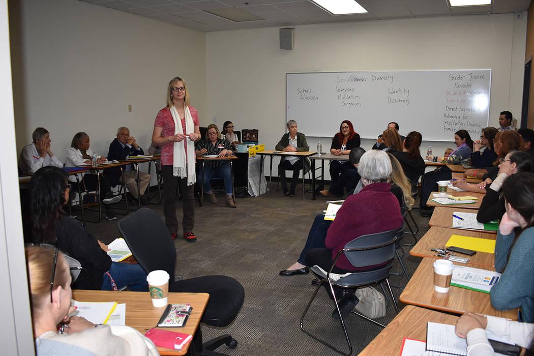 La sesión de diversidad de género trató sobre cómo forjar una sociedad equitativa. 27 de enero de 2018 en CSN. Foto Anthony Avellaneda / El Tiempo.