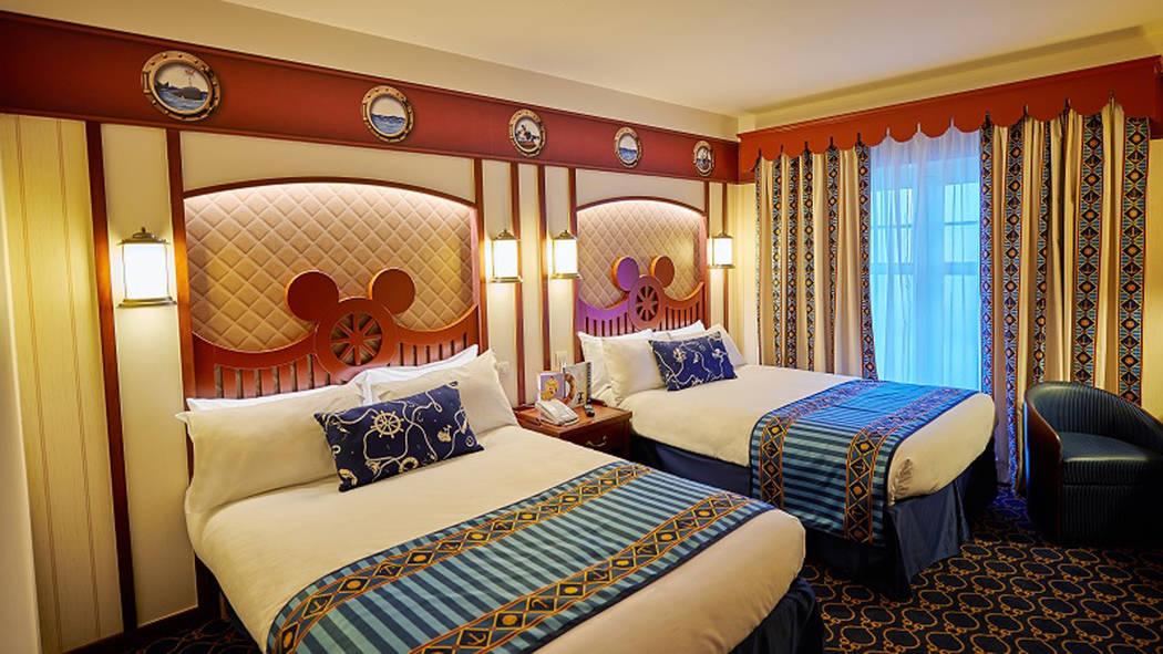 Muestra de una habitación de un hotel de la empresa Disney. Foto Cortesía.